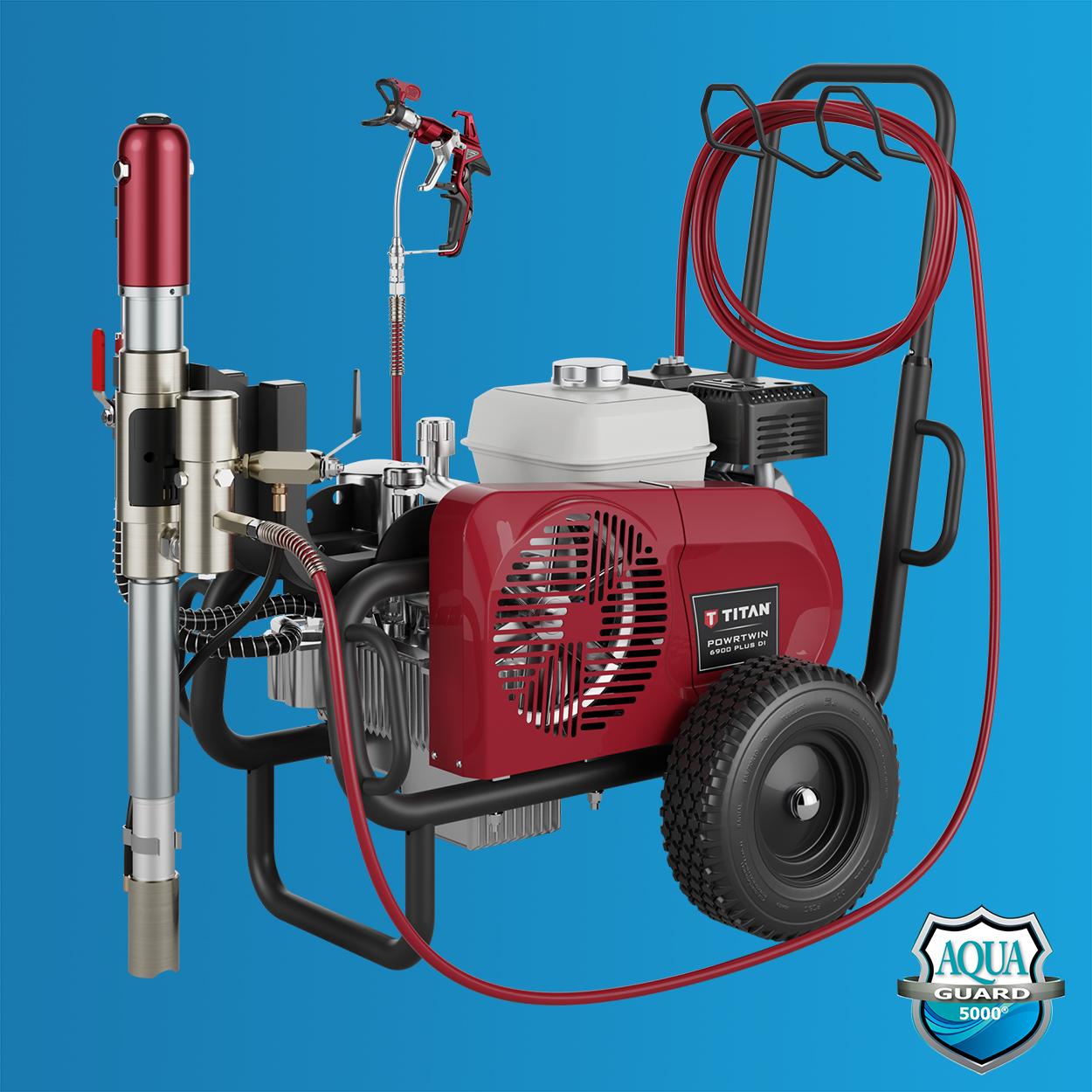Titan Speeflo PowrTwin 6900XLT DI - Heavy Material Spraying System