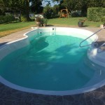 Fiberglass pool resurfacing with AquaGuard 5000