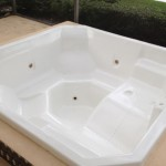 Fiberglass Spa Restoration with AquaGuard 5000