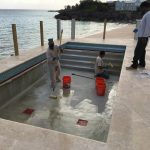 Commercial Swimming Pool Epoxy Paint in Bermuda