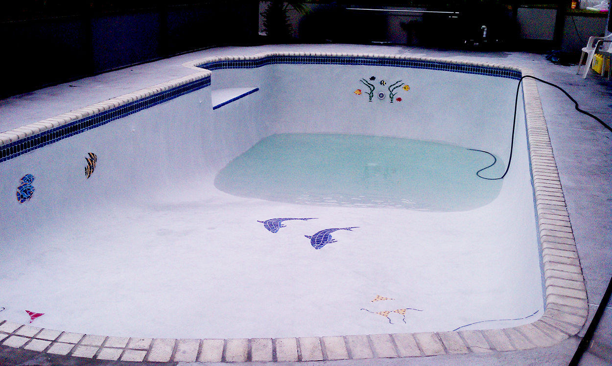 Residential Fiberglass Pool Paint And Repair Aqua Guard 5000
