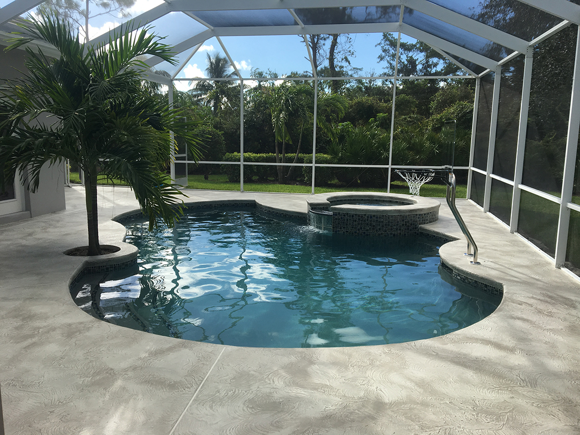 Pool and spa resurfacing with pavers aqua guard 5000 - Pool restoration ...