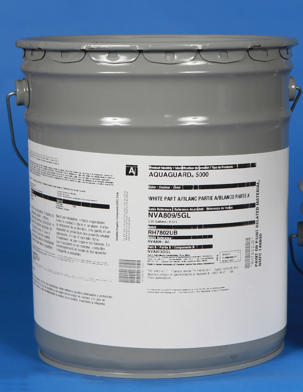 Aquaguard 5000 pool paint 5 gallon part A only