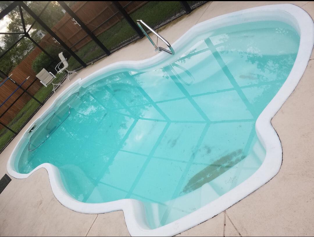 Before Swimming Pool restoration