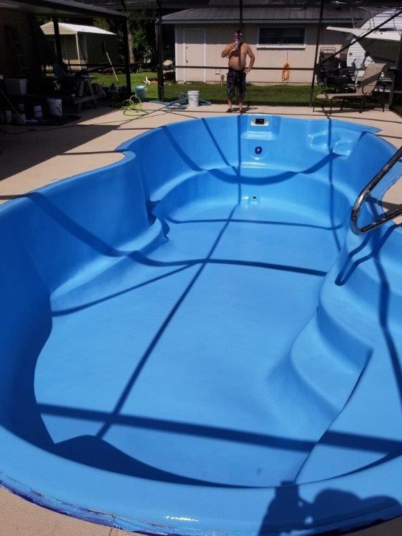 Residential Pool After AquaGuard 5000 Application