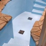 Georgia Baptistry Before and After AquaGuard5000 Pool finish application