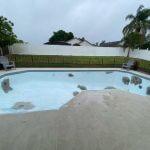 Miami Blue Epoxy Pool finish