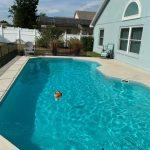 Miami blue Pool Finish